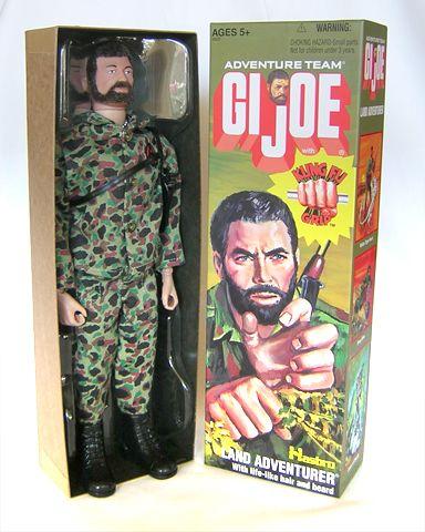 Land Adventurer 12 Kung-Fu Grip GI Joe Hasbro 1974 Action