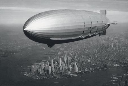 zeppelin-over-new-york-vintage-photography-poster