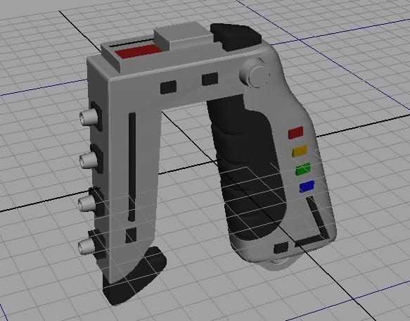 space-1999-stun-gun-model-nearly-done
