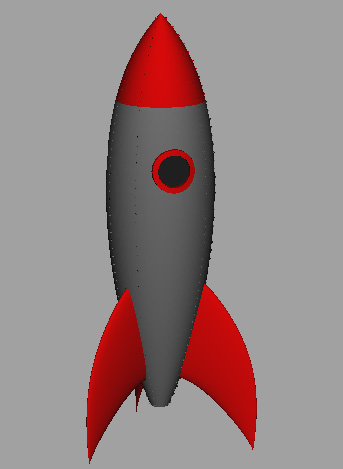 rocket-fathers-day-card-model