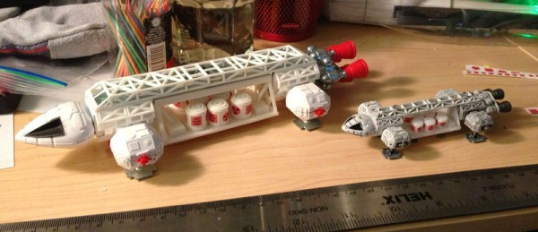 eagle-freighter-pods-dinky-konami-attached